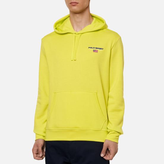 Мужская толстовка Polo Ralph Lauren Polo Sport Neon Fleece Hoodie Bright Pear