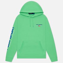 Мужская толстовка Polo Ralph Lauren Polo Sport Neon Fleece Hoodie Neon Green