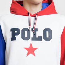 Мужская толстовка Polo Ralph Lauren Polo Star Hoodie White/Multicolor фото- 2
