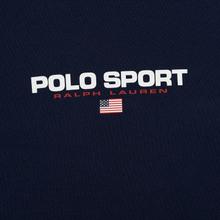 Мужская олимпийка Polo Ralph Lauren Polyester Tricot Fleece Cruise Navy фото- 2