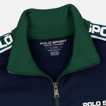 Мужская олимпийка Polo Ralph Lauren Polyester Tricot Fleece Cruise Navy фото- 3
