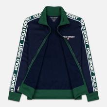 Мужская олимпийка Polo Ralph Lauren Polyester Tricot Fleece Cruise Navy фото- 4