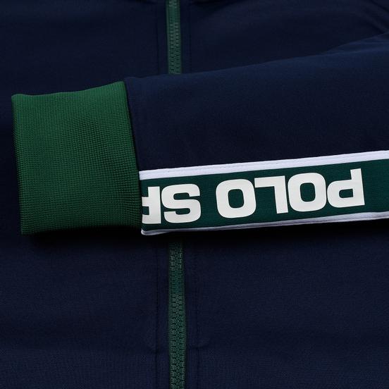 Мужская олимпийка Polo Ralph Lauren Polyester Tricot Fleece Cruise Navy