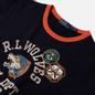 Мужская толстовка Polo Ralph Lauren R.L. Wolves Vintage Fleece Dark Cobalt фото - 1