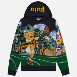 Мужская толстовка Polo Ralph Lauren Rugby Bear Hoodie Multicolor