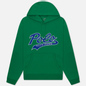 Мужская толстовка Polo Ralph Lauren Signature Logo Sporty Style Hoodie Chroma Green фото - 0