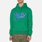 Мужская толстовка Polo Ralph Lauren Signature Logo Sporty Style Hoodie Chroma Green фото - 2