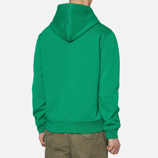 Мужская толстовка Polo Ralph Lauren Signature Logo Sporty Style Hoodie Chroma Green