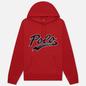 Мужская толстовка Polo Ralph Lauren Signature Logo Sporty Style Hoodie Red фото - 0