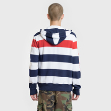 Мужская толстовка Polo Ralph Lauren Stripe Hoodie Aviator Navy/Multicolor фото- 3