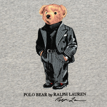 Мужская толстовка Polo Ralph Lauren Suit Bear Fleece Stadium Pepper Heather фото- 2