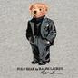 Мужская толстовка Polo Ralph Lauren Suit Bear Fleece Stadium Pepper Heather фото - 2