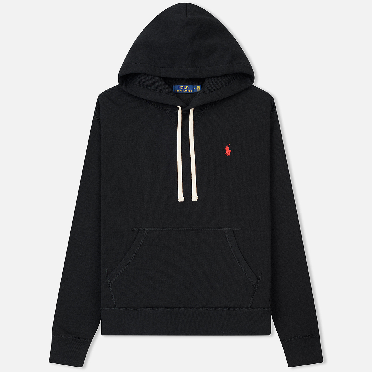 Мужская толстовка Polo Ralph Lauren Vintage Classic Athletic Fleece Hoody Black