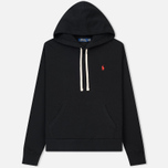 Мужская толстовка Polo Ralph Lauren Vintage Classic Athletic Fleece Hoody Black фото- 0