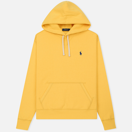 Мужская толстовка Polo Ralph Lauren Vintage Classic Athletic Fleece Hoody Chome Yellow