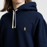 Мужская толстовка Polo Ralph Lauren Vintage Classic Athletic Fleece Hoody Cruise Navy фото- 3