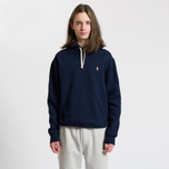 Мужская толстовка Polo Ralph Lauren Vintage Classic Athletic Fleece Hoody Cruise Navy фото- 1