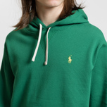 Мужская толстовка Polo Ralph Lauren Vintage Classic Athletic Fleece Hoody English Green фото- 3
