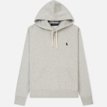 Мужская толстовка Polo Ralph Lauren Vintage Classic Athletic Fleece Hoody Light Sport Heather фото- 0