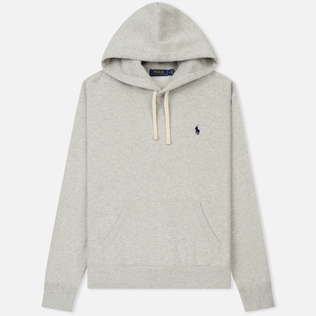 Мужская толстовка Polo Ralph Lauren Vintage Classic Athletic Fleece Hoody Light Sport Heather