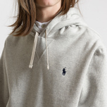 Мужская толстовка Polo Ralph Lauren Vintage Classic Athletic Fleece Hoody Light Sport Heather фото- 4