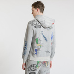 Мужская толстовка Polo Ralph Lauren Vintage Print Hoodie Light Grey Heather фото- 4