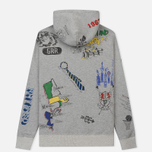 Мужская толстовка Polo Ralph Lauren Vintage Print Hoodie Light Grey Heather фото- 1