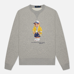 Мужская толстовка Polo Ralph Lauren Yachting Bear Magic Fleece Andover Heather