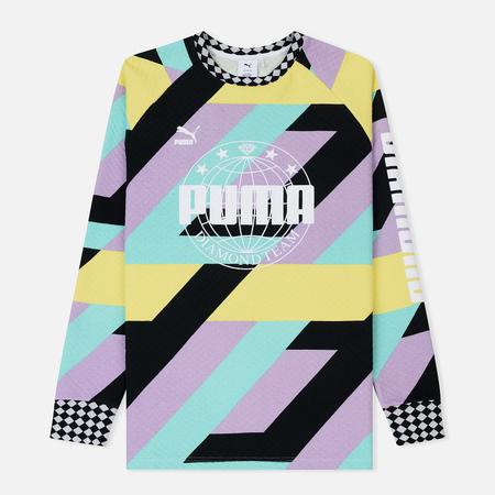 Мужская толстовка Puma x Diamond Crew All Over Print/Multicolor