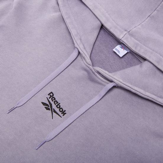 Мужская толстовка Reebok Classic Premium Washed Hoodie Violet Haze