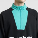 Мужская толстовка Reebok Classic Vector 1/4 Zip Black фото- 3