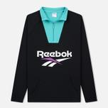 Мужская толстовка Reebok Classic Vector 1/4 Zip Black фото- 0