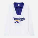Мужская толстовка Reebok Classic Vector 1/4 Zip White фото- 0