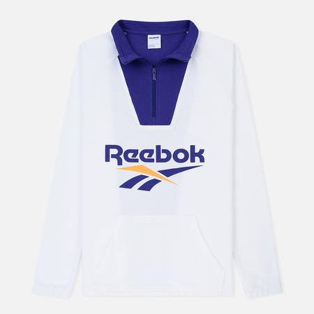 Мужская толстовка Reebok Classic Vector 1/4 Zip White