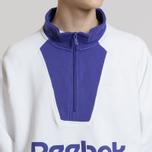 Мужская толстовка Reebok Classic Vector 1/4 Zip White фото- 5