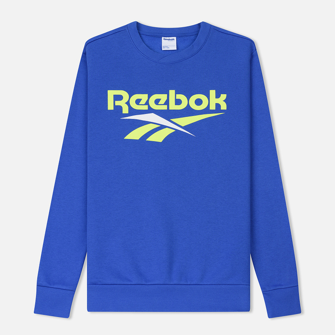 Мужская толстовка Reebok Classic Vector Crewneck Jumper Crushed Cobalt