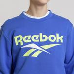 Мужская толстовка Reebok Classic Vector Crewneck Jumper Crushed Cobalt фото- 3