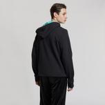 Мужская толстовка Reebok Classic Vector Hoodie Black/Turquoise фото- 2