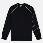 Reebok Multi Place Vector Crew Men's Sweatshirt Black photo- 0