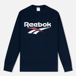 Reebok Vector Crewneck Men's Sweatshirt Navy photo- 0