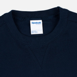 Reebok Vector Crewneck Men's Sweatshirt Navy photo- 1
