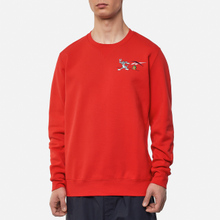 Мужская толстовка Reebok x Tom & Jerry Oversize Crew Neck Motor Red фото- 2