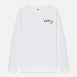 Мужская толстовка Reebok x Tom & Jerry Oversize Crew Neck White