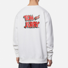 Мужская толстовка Reebok x Tom & Jerry Oversize Crew Neck White фото- 3