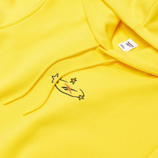 Мужская толстовка Reebok x Tom & Jerry Oversize Hoodie Bright Yellow
