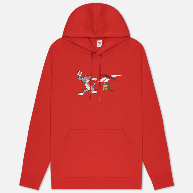 Мужская толстовка Reebok x Tom & Jerry Oversize Hoodie Motor Red