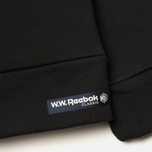 Мужская толстовка Reebok x Wood Wood Crewneck Black/White фото- 6