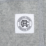 Мужская толстовка Reigning Champ Crest Logo Crew Neck Heather Grey фото- 3