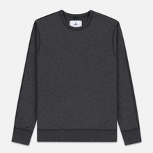 Мужская толстовка Reigning Champ Crew Neck Midweight Twill Terry Heather Charcoal фото- 0
