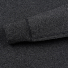 Мужская толстовка Reigning Champ Crew Neck Midweight Twill Terry Heather Charcoal фото- 2